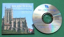 The Choir of Great Malvern Priory How Joyful 'tis To Sing Favourite Hymns CD