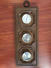 Springfield Weather Instrument Thermometer Barometer Humidity Meter Trio