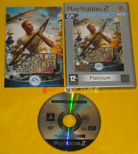 MEDAL OF HONOR RISING SUN Ps2 Versione Ufficiale Italiana Platinum »»»» COMPLETO