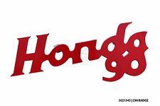 Customised painted legshield badge for honda C90 Honda 90