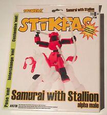 STIKFAS AFK73D SAMURAI WITH STALLION ALPHA MALE Brand New in Box Unopened RARE