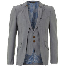 New Vivienne Westwood Grey Wool Waistcoat Blazer Jacket - Size IT 50 UK 40