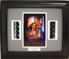 STAR WARS EPISODE II ATTACK OF THE CLONES FRAMED FILM CELL BRAND NEW