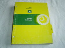 John Deere 6600 combine parts catalog book manual