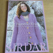 Sirdar Big Bamboo Knits 2 - 11 Hand Knits for Women and Girls