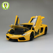 1:18 Lamborghini Aventador LP700-4 Diecast Welly FX Model 18041 Yellow