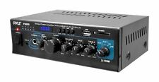 NEW Pyle PTAU55 2 x 120W Stereo Amplifier USB/SD AUX CD MIC Input & LED Display