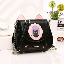SWEET LOVE LOLITA KAWAII CAT HANDBAG with KITTY EARS CROSSBODY BAG