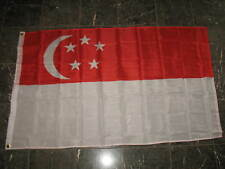 3x5 Singapore Southeast Asian Republic Flag 3'x5' Banner Brass Grommets