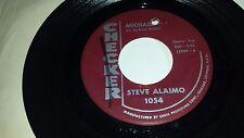 """STEVE ALAIMO Michael Pt. 1 / Michael Pt. 2 CHECKER 1054 ROCKER 45 7"""""""