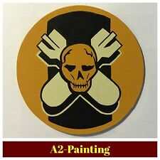 WW2 Hand Painted 527th Bomb Sqd Leather Patch For A2 G1 Jacket