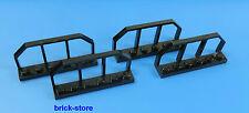 LEGO® Eisenbahn / train 1x6 schwarz / Waggon Gitter Zaun / 4 Stück