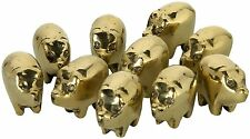 BRAND NEW SMALL GOOD LUCK SOLID BRASS PIG - GREAT GIFT IDEA ****BARGAIN PRICE***