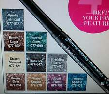 AVON GLIMMERSTICKS DIAMONDS EYE LINER BROWN  GLOW #G101 SEALED