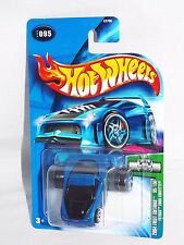 Hot Wheels 2004 First Editions #95 Fatbax 2005 Corvette Blue No Tail Light Tampo