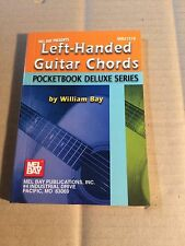 LEFT-HANDED GUITAR CHORDS - POCKETBOOK DELUXE SERIES - WILLIAM BAY - OHNE NOTEN
