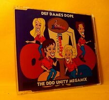 MAXI Single CD DEF DAMES DOPE The DDD Unity Megamix 5TR 1994 eurodance