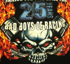 CHECKERED FLAG PRODUCTIONS small T shirt Monster Truck tee Bad Boys of Racing