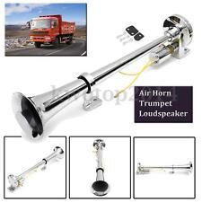 12-24V 150dB Single Air Horn Chrome Trumpet Loudspeaker Set For Train Car Truck