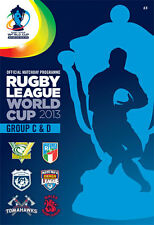* 2013 RUGBY LEAGUE WORLD CUP GROUP C & D MATCHES OFFICIAL PROGRAMME *