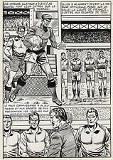 FINALE DE COUPE FOOTBALL (ROBERT HUGUES) PLANCHE ORIGINALE PILAR SANTOS PAGE 23