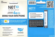 iPhone 5 SIM CARD UNLIMITED T-MOBILE 4G SERVICE Net10