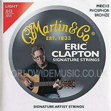 Martin MEC12 Clapton's Choice Acoustic Guitar Strings Light Gauge 012 - 054