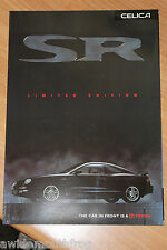 Toyota Celica SR Limited Edition Sales Folder 1.8 Litre 16v June 1998
