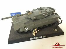 WARTANKS WTM03A MERKAVA MKIII ISRAELI IDF w/ display stand & figures scale 1:48