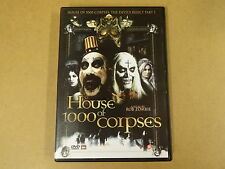 DVD / HOUSE OF 1000 CORPSES ( ROB ZOMBIE )