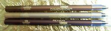 3 Revlon High Dimension Eye Liner Crayon Pencils