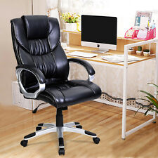 PU Leather High Back Office Chair Executive Task Ergonomic for Computer Desk New