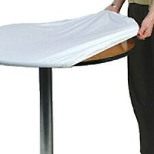 "Kwik 2 Pack, 60"", Round, White, Tablecover, Is A Disposable / Reusable"