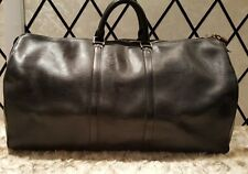 100% Authentic Louis Vuitton Holdall Keepall 55 Black Epi Leather
