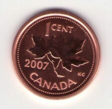 2007 Canadian Specimen Penny Small Cent Magnetic ~Beautiful~