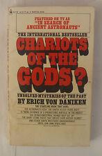 Chariots Of The Gods? by Erich Von Daniken - 1973 Paperback