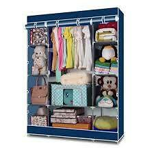 Keimav Heavy Duty Clothes and Wardrobe Organizer (Blue)