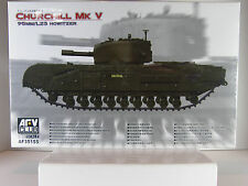 AFV CLUB 35155 1/35 SCALE CHURCHILL MK V 95MM/L23 HOWITZER
