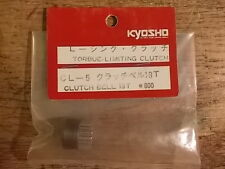 CL-5 Clutch Bell 18 Tooth / W-5048 - Kyosho Optima Ultima Pegasus Cosmo Javelin
