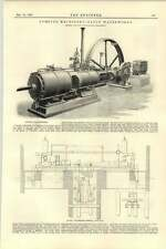 1892 obras de agua de bombeo maquinaria Eaton