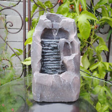 Feng Shui Tabletop Indoor Rockery LED Indoor Water Fountain