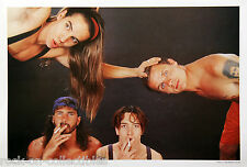 Red Hot Chili Peppers 1990 Japan Exclusive Promo Poster RHCP 'Grey' Mothers Milk