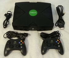Original Soft Modded XBOX New 2TB Hard Drive Tons of Retro,Xbox games & bonus !