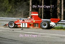Clay Regazzoni Ferrari 312 B3 Austrian Grand Prix 1974 Photograph