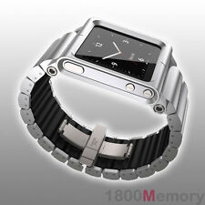 GENUINE LunaTik Silver LYNK Multi-Touch Wrist Watch Band for Apple iPod Nano 6G