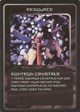 """Doctor Who MMG CCG - Resource """"Kontron Crystals"""" Card"""