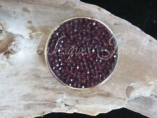GENUINE MI STERLINA MILANO AMETHYST CRYSTAL COIN/MONEDA FOR NECKLACE/PENDANT