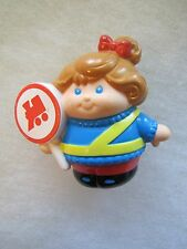 New! Little Tikes CHUNKY RAILROAD TRAIN CROSSING GUARD GIRL for Little People