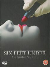 SIX FEET UNDER - Series 1. Peter Krause, Michael C Hall (HBO 4xDVD BOX SET 2003)