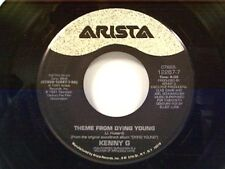 "KENNY G ""THEME FROM DYING YOUNG / I'LL NEVER LEAVE YOU (LOVE THEME)"" 45 MINT"